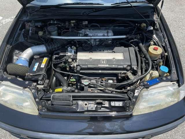 ホンダB16エンジンはサイ コーです!吹け上がり良し(>_<)!!