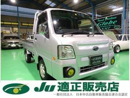 スバル サンバートラック 660 TC スーパーチャージャー 三方開 4WD ナビ付