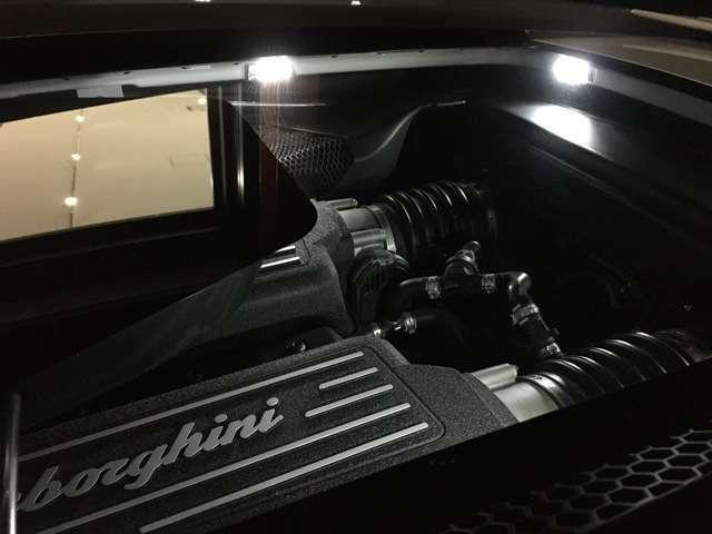 ガラスエンジンフード!LEDライトパッケージ!