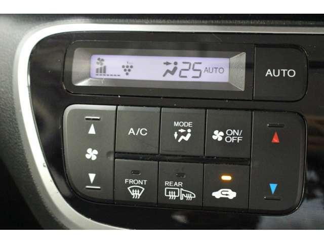 室内環境を快適に出来るオートエアコン装着!!エアコンはオートエアコンでお好みの温度調整が出来ます。オールシーズン快適にドライブ出来て楽しさ倍増ですね。
