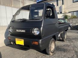 スズキ キャリイ 660 KA 3方開 4WD 4速マニュアル車