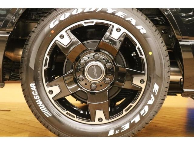 【タイヤ・ホイール】FLEXオリジナル17インチアルミホイール×GOODYEARナスカータイヤを装着!