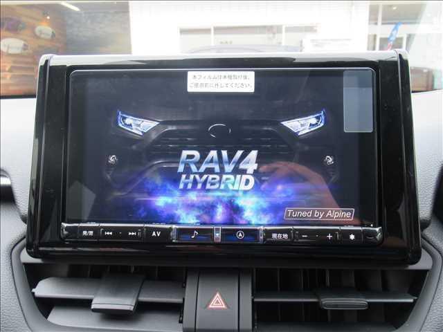フルセグ内蔵の新品9インチナビ搭載。DVD再生、Bluetoothも対応可能です。