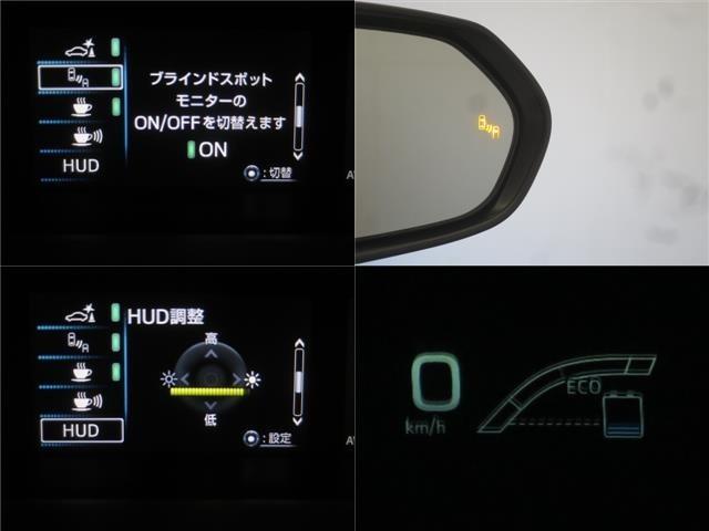 ブラインドスポットモニター・ヘッドアップディスプレイ装備で快適です!!