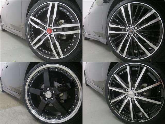 Bプラン画像:新品18インチアルミホイール&新品タイヤ取付でエクステリアもカッコよくキマります!!