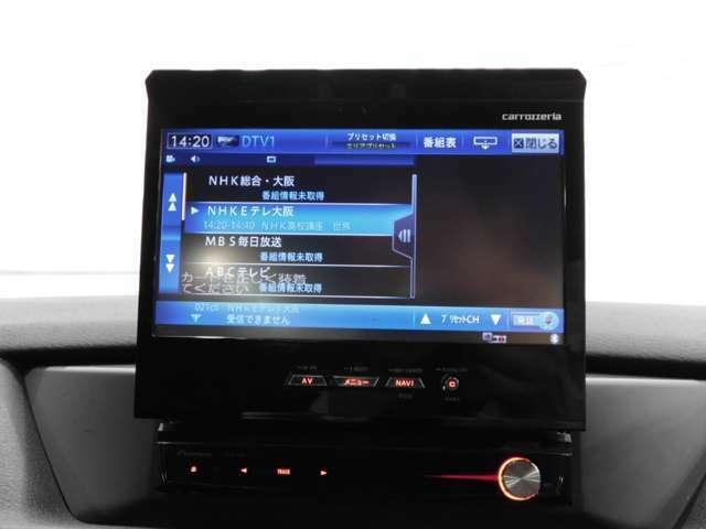 装着すると高価なHDDナビ&テレビ&バックモニター付です