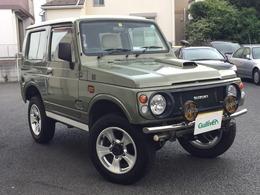 スズキ ジムニー 660 ワイルドウインド 4WD 全塗装済 リフトアップ 社外前後バンパー