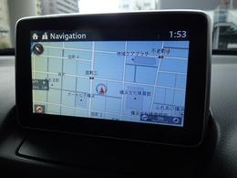 ナビ、オーディオ、メンテナンス管理をこなすマツダコネクトナビゲーション搭載。