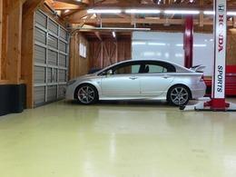 ホンダ シビックタイプR 2.0 クラッチセット・四輪アライメントメンテナ