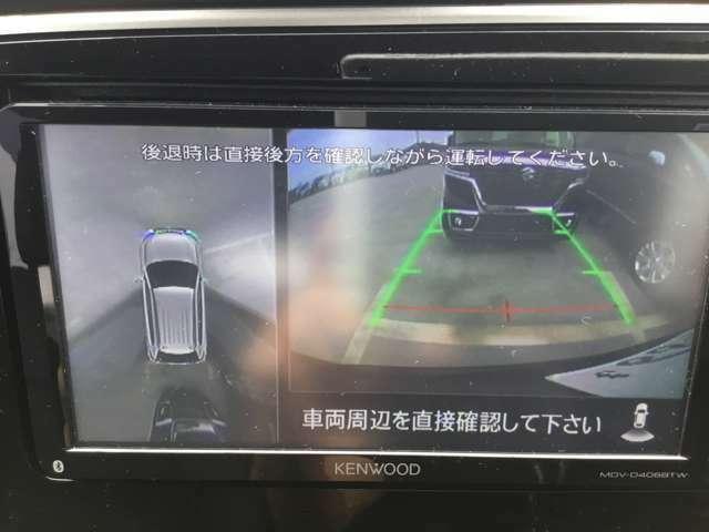 駐車が苦手な方も安心のバックカメラ付きです。ガイドラインもあるので駐車もしやすくなりますよ!