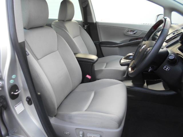 【パワーシート】 微妙な位置調整も可能で最適なドライビングポジションに設定できますよ!