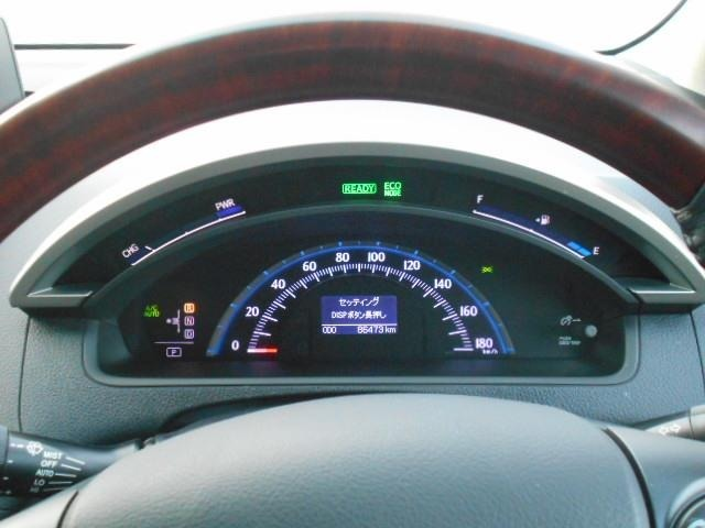 視認性の良いメーターで、運転も快適です!