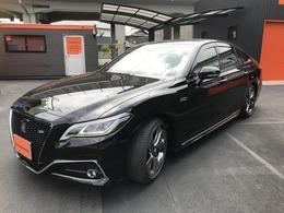 トヨタ クラウン ハイブリッド 3.5 RS アドバンス 1オーナー 黒革電動シート