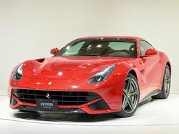 フェラーリ F12ベルリネッタ F1 DCT CORNES芝 特注カラー レッドカーボン内装