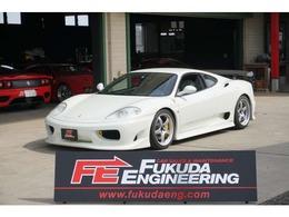 フェラーリ 360モデナ F1 外装色ビアンコアヴス ディーラー車