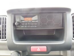 スピーカー一体型ラジオ