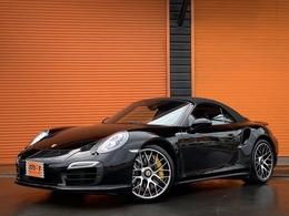 ポルシェ 911カブリオレ ターボS PDK スポクロP正規D車PccbPdccレザー&CarbonPG