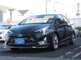 トヨタ プリウス 1.8 S ツーリングセレクション モデリスタエアロ・黒革シート