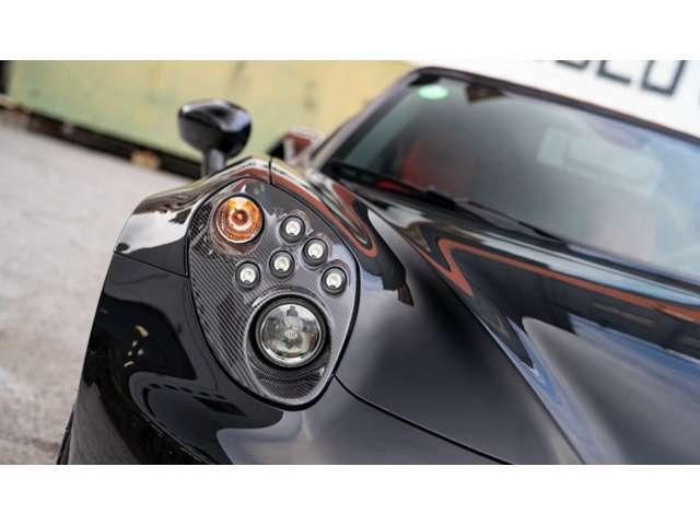 オプションのカーボンライトフレームに交換されています。