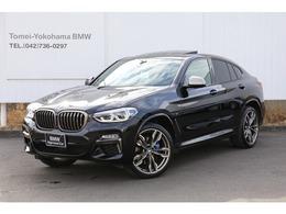 BMW X4 M40i 4WD サンルーフ黒レザーイノベーションPKG禁煙