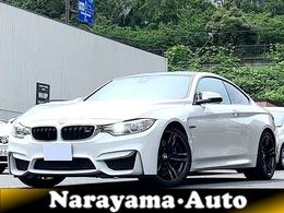 BMW M4クーペ M DCT ドライブロジック 赤革シート ワンオーナー 禁煙車 カーボン