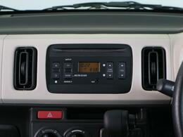 CD・ラジオ再生機能付きオーディオ。