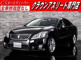 トヨタ クラウンアスリート 3.5 Gパッケージ 後期型/プレミアムSS/黒革/エアシート