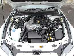 クリーニング済み綺麗なエンジンルーム&新開発SKYACTIV-G2.0 PE-VPR[RS]型エンジン!!フロントサスタワーバー付!!