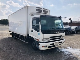 いすゞ フォワード 冷蔵冷凍車 格納PG ラッシング2段 ETC