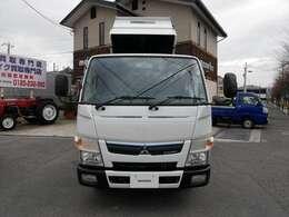 平成29年式 三菱 キャンター 2t強化ダンプ 低床 ターボ 左電格ミラー 入庫しました!