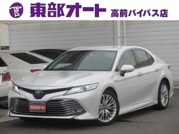 トヨタ カムリ 2.5 G レザーパッケージ モデリスタエアロ メーカーナビ 黒革シート