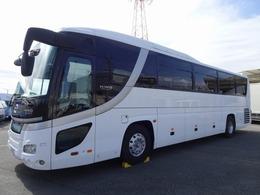 日野自動車 セレガ 42人乗り観光バス ハイデッカー 地デジTV 460馬力(カタログ値) 冷蔵庫 給湯器