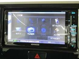 ケンウッド製メモリーナビ MDV-X711W フルセグ ブルートゥース対応 DVD&CD再生 USB接続可能