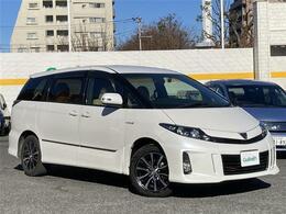 トヨタ エスティマハイブリッド 2.4 アエラス VERYエディション 4WD 4WD 本革シート