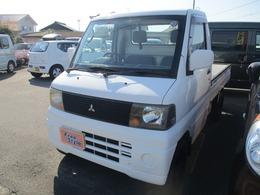 三菱 ミニキャブトラック 660 VX-SE エアコン付 5MT・TベルWP交換済