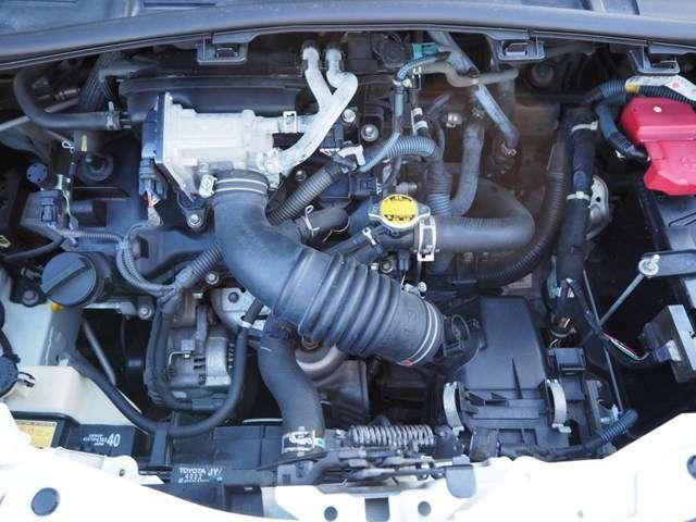 【エンジン】1.0L 直列3気筒DOHC MAX出力68ps(50kw)/6000rpmMAXトルク9.2kg・m(90N・m)/4800rpm(カタログ値)