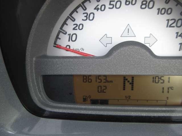 走行距離が8万キロ台ですが、今のところ調子も良く、まだお乗りいただけます!