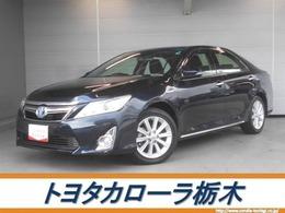 トヨタ カムリハイブリッド 2.5 Gパッケージ メモリーナビ・ワンセグ・HID・ETC