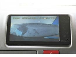 ナビにバックカメラ連動施工済み!駐車時も安心です!