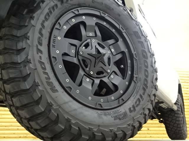 新品アルミ KMC ロックスターII 新品タイヤ BF Goodrich Mud-Terrain リフトアップ