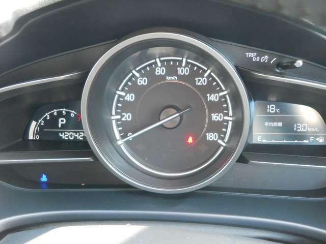 スピードメーターの画像です。