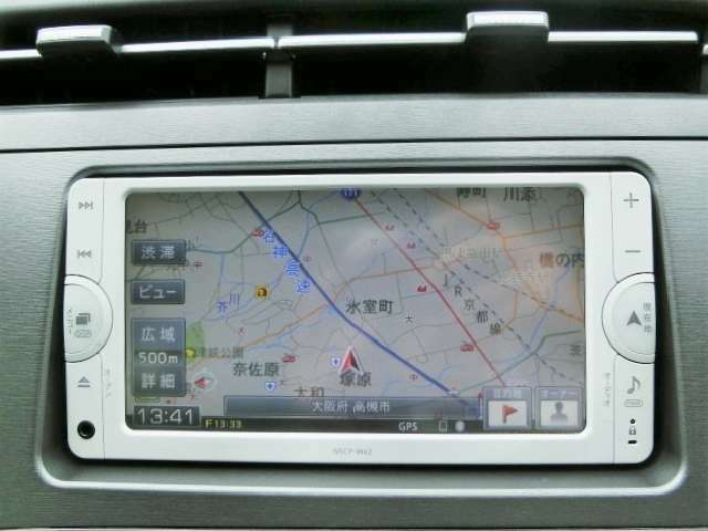 純正SDナビ【NSCPーW62】Bluetooth・ワンセグTV・CD・SD・AUX