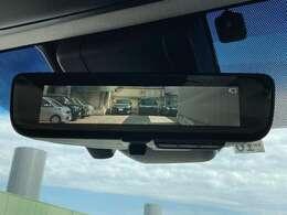 【デジタルインナーミラー】荷室に荷物を満載したり、後席に人を乗せたりして後方視界が妨げられた時、ディスプレイに映像を表示!環境に合わせて輝度が切り替わり、強い光が差し込んだ時は、自動防眩機能も働きます