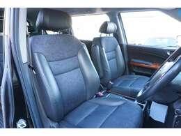 ★【ハーフレザーシート】運転席シートのコンディションをご確認下さい!!★