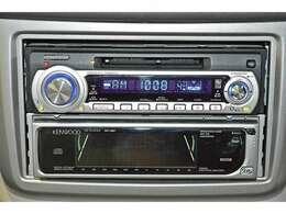 『CD/MDステレオ』装備。お好みのサウンドで楽しくドライブ♪ナビの取り付けもご相談してください♪