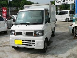 日産 クリッパートラック 冷蔵冷凍車 -5℃設定 Wコンプレッサー