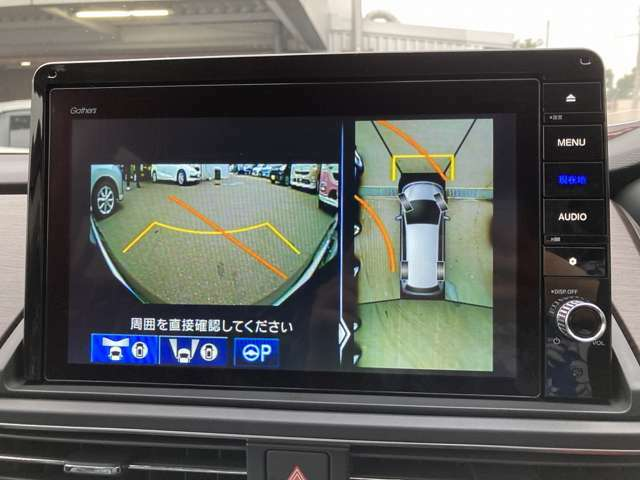 純正10インチGathersナビ☆マルチビューカメラ対応☆駐車が楽々行えます♪