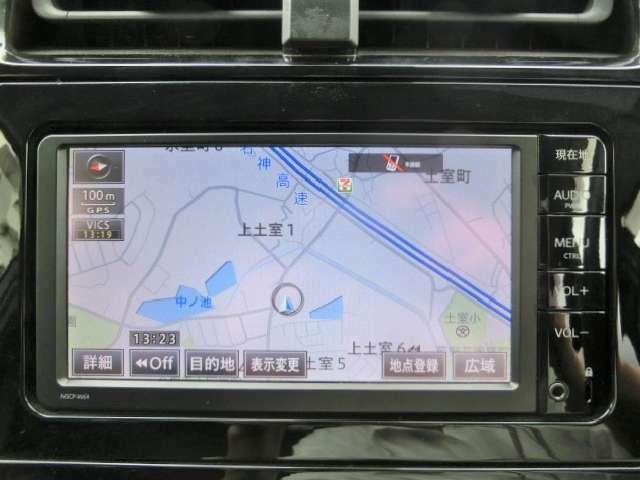 純正SDナビ【NSCPーW64】Bluetooth・ワンセグTV・CD・SD・AUX