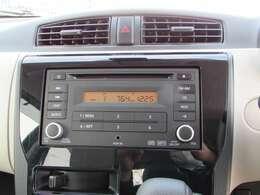 純正CD・FM・AMチューナー今の主流ステレオです、ラジオも楽しめます。