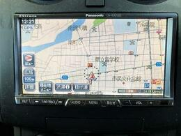 社外製のHDDナビはバックカメラも装備しています。
